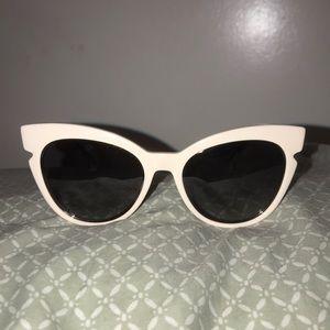 Authentic Fendi Tinted Cat-Eye Sunglasses